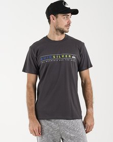 Quiksilver Always Clean T-Shirt Tarmac