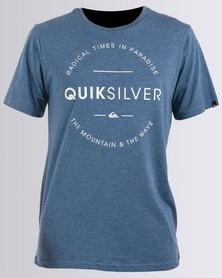 Quiksilver Free Zone T-Shirt Blue