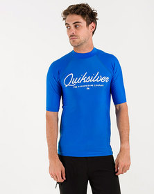 Quiksilver Wheres Johnny Rashvest Blue