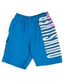 Quiksilver Tods Mean Machine Boardshorts Blue