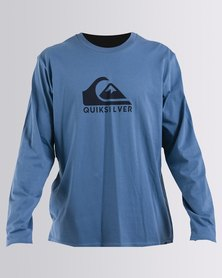 Quiksilver Brexit Long Sleeve T-Shirts Blue