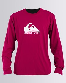 Quiksilver Brexit Long Sleeve T-Shirts Red