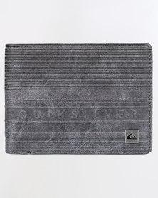 Quiksilver Everyday Stripe Wallet Grey