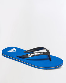 Quiksilver Molokai Flip Flops Blue
