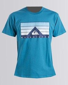 Quiksilver Cabvolt T-Shirt Blue