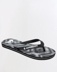 Quiksilver Molokai Mixed Flip Flops Grey