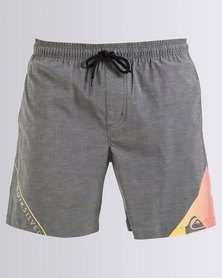 Quiksilver All For One 17 Inch Boardshorts Grey