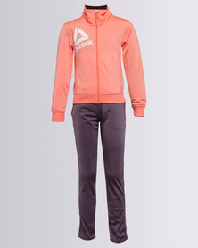 Reebok Girls TRIC Tracksuit Orange