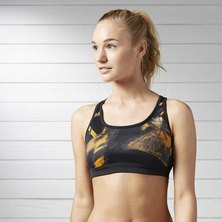 Running Essentials Printed Bra