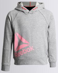 Reebok Girls OTH Hoodie Grey