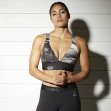 Reebok Combat SmoothGrip Sports Bra