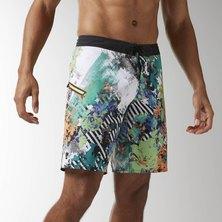 Reebok CrossFit Super Nasty Floral Board Shorts