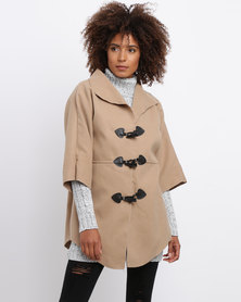 Revenge Toggle Jacket Camel