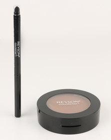 Revlon ColorStay Pressed Powder & FREE Eyeliner Carob
