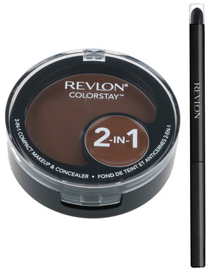 Revlon ColorStay Compact Makeup with FREE Eyeliner Carob