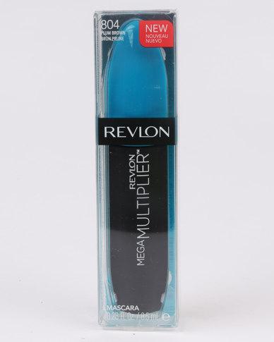 Revlon Mega Multiplier Mascara Plummy Brown