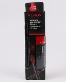 Revlon Ultimate All in One Mascara NWP & ColorStay Eyeliner Blackest Black