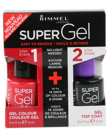 Rimmel Super Gel Nail Polish Duo Dlngdhl 41