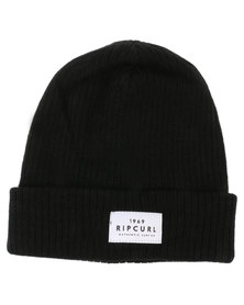 Rip Curl Essentials Beanie Black