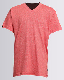 Rip Curl Little Man V-Neck Tee Red