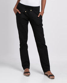 Rip Curl Easy Beach Chino Pants Black