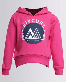 Rip Curl Mini Adventure Hoodie Pink