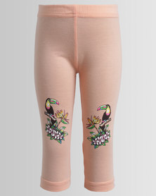 Rip Curl Parrot Palm Leggings Coral