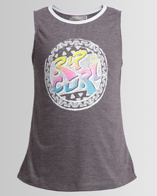 Rip Curl Teen 100% Rad Muscle Vest  Iron