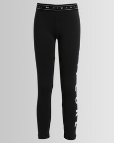 Rip Curl Teen Logo Legging Black