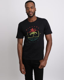Rip Curl Palm Wave Tee Black