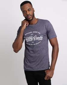 Rip Curl Round South Tee Navy
