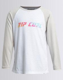 Rip Curl Two Tone L/S Tee Grey