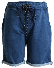 Rip Curl Ripping Shogger Walkshorts Light Blue