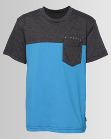 Rip Curl Boys Split Tee Blue