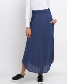 Rip Curl Ocean Jewel Maxi Skirt Blue