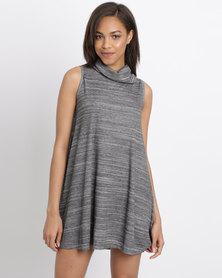 Rip Curl Kimba Rib Dress Grey