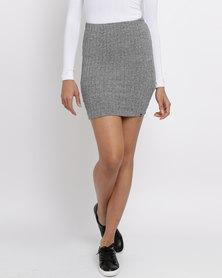 Rip Curl Plains Midi Skirt Grey