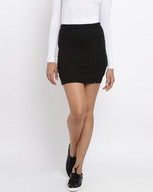 Rip Curl Plains Midi Skirt Black