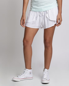 Rip Curl Ocean Shell Shorts White