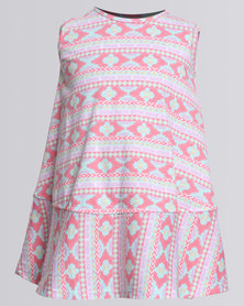 Rip Curl Mini Mira Beach Dress White