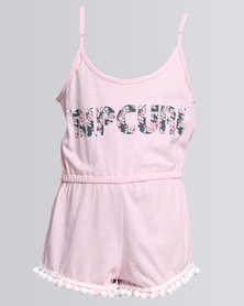 Rip Curl Tropical Dayz Playsuit Pink