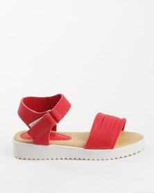 Rock & Co Pheobe Jelly Sandal Red
