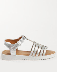 Rock & Co Sparkle Sandal Silver