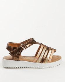 Rock & Co Sparkle Sandal Bronze