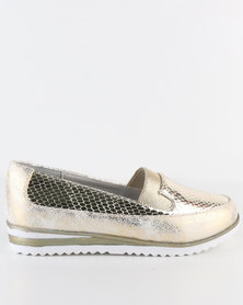 Rock n Co Kesha Slip On Gold