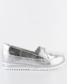 Rock n Co Kesha Slip On Silver