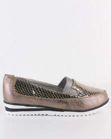 Rock n Co Kesha Slip On Pewter