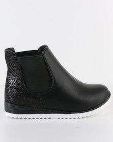 Rock n Co Tasha Ankle Boot Black