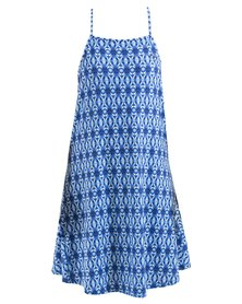 Roxy Sand Roast Dress Blue