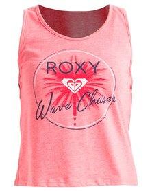 Roxy Girls Season Wave Change Vest Coral